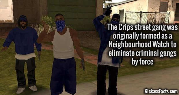 1001 Crips street gang