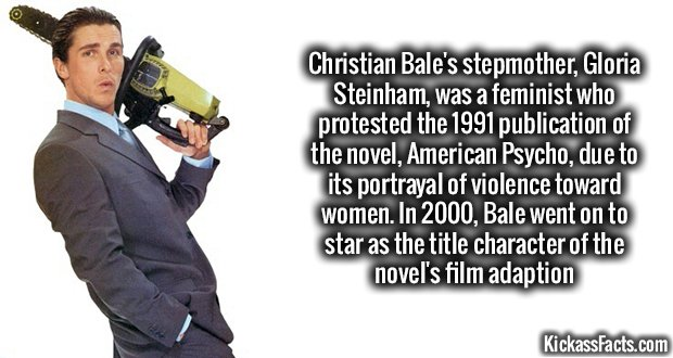 1015 Christian Bale American Psycho