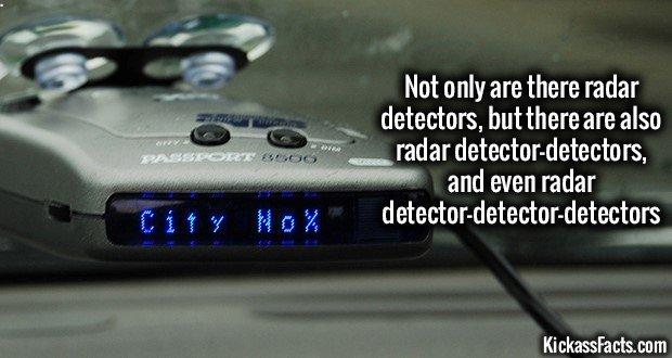 1045 Radar Detector Detector Detector