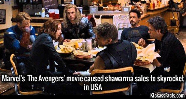1089 Avengers Shawarma