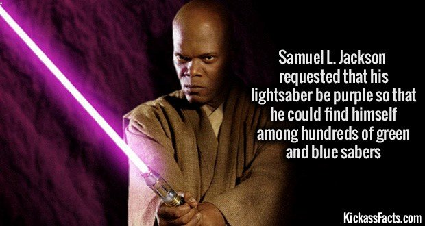 1130 Samuel L. Jackson Lightsaber