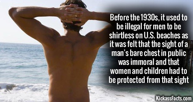 1192 Shirtless on Beach