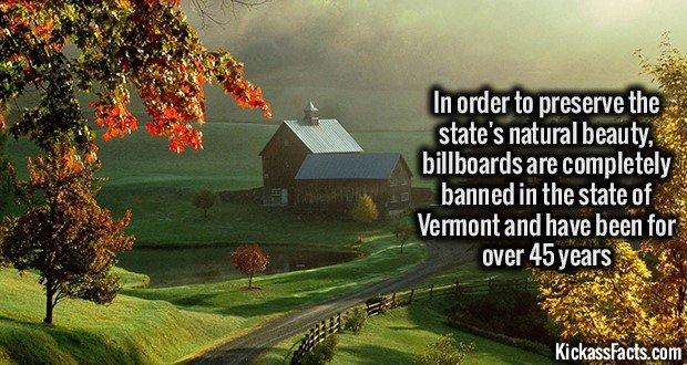 1201 Vermont Billboard Ban