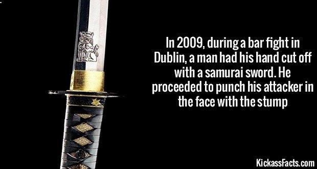 1287 Peter Rogers Stump Bar Fight