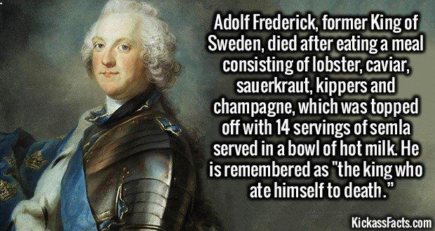 1289 King Adolf Frederick of Sweden