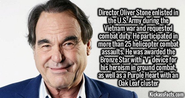 1299 Director Oliver Stone
