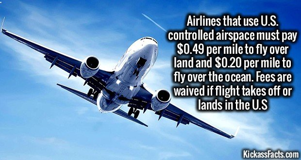 1301 US Airspace Rates