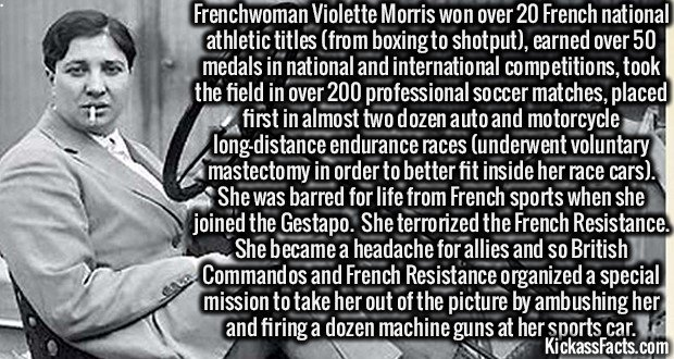 1307 Violette Morris