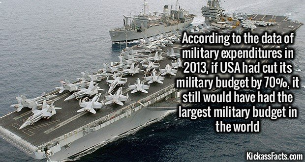 1365 United States Military Expenditure