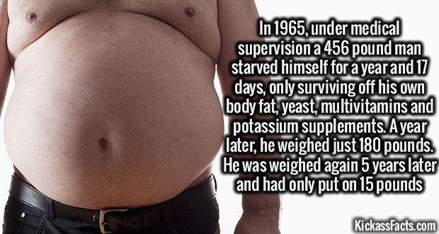 1393 Starving Weight Loss