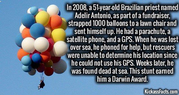 1431 Brazilian priest on Balloons