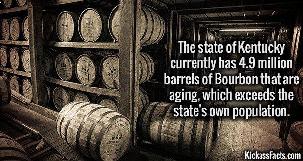 1444 Barrels of Bourbon