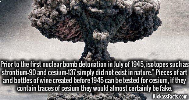 1472 Nuclear bomb Detonation