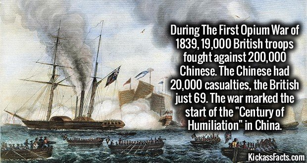 1500 First Opium War