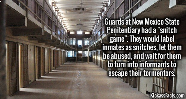 1522 New Mexico State Penitentiary
