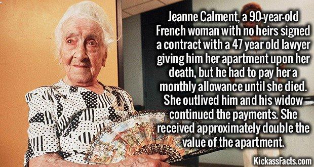 1526 Jeanne Calment