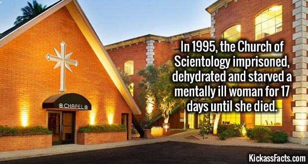 1560 Church of Scientology
