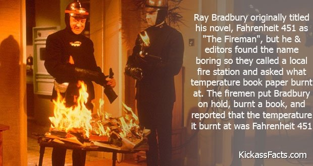 fahrenheit 451 film vs novel essay