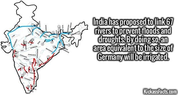 1730 India River Interlinking