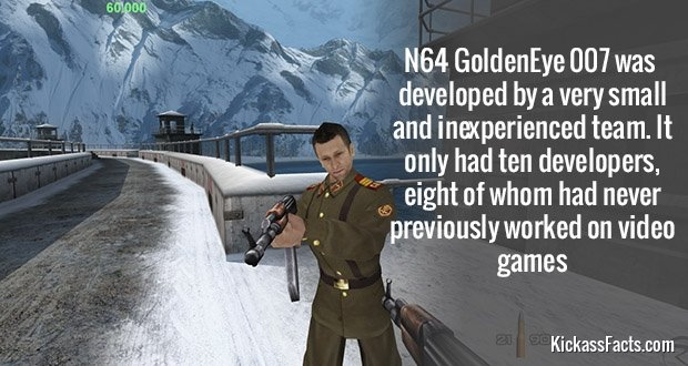 572N64 GoldenEye