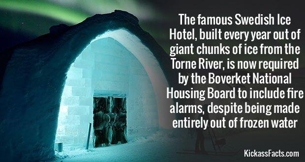 814 Swedish Ice Hotel
