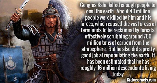 831 Genghis khan