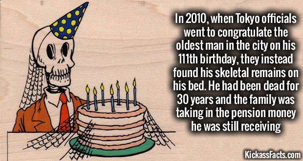 848Tokyo Oldest Man