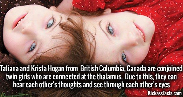 858 Tatiana and Krista Hogan