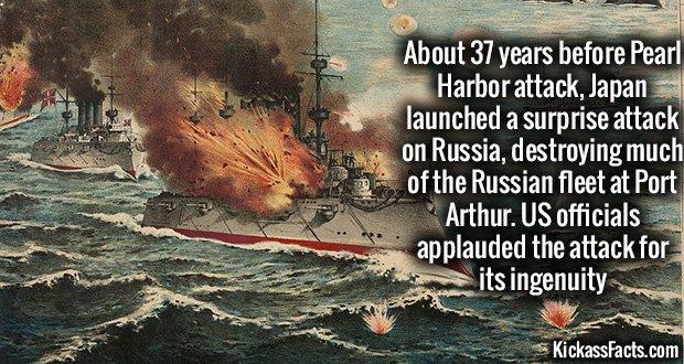 882Japanese Port Arthur Attack