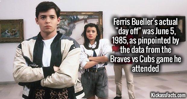 890Ferris Bueller's Day Off