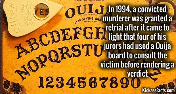 904 Ouija Board Jury