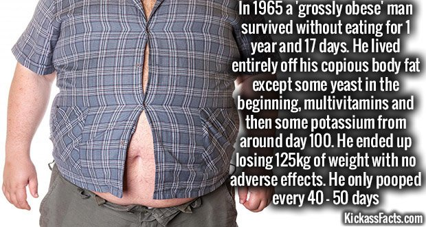 920 Obese man weight loss