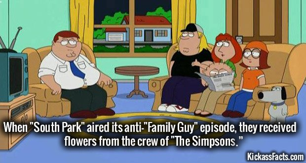 921 Sout Park Family Guy