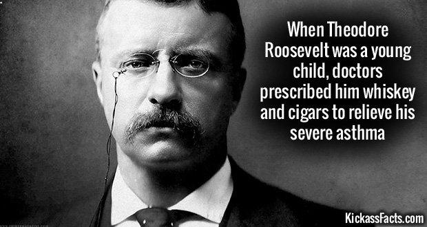932 Teddy Roosevelt