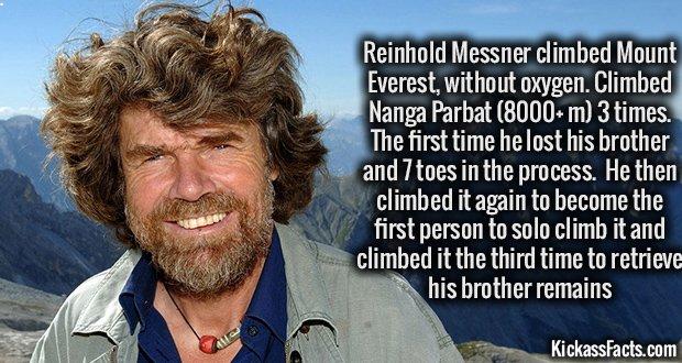 983 Reinhold Messner