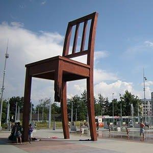 Broken Chair-Interesting Facts About Switzerland