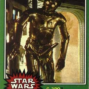 C3PO card-Interesting Facts About Star Wars