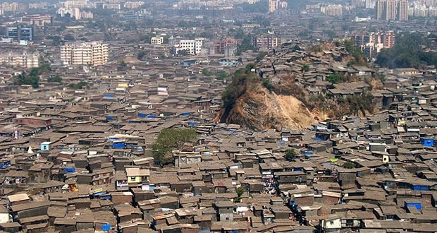 Dharavi slums, Mumbai, India-Most Densely Populated Places on Earth