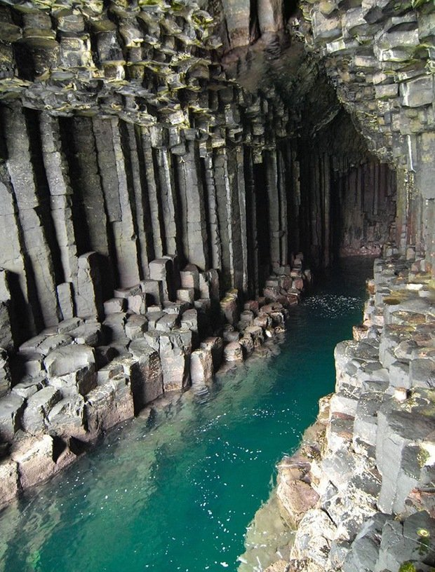 Fingal's Cave-Surreal Places on Earth