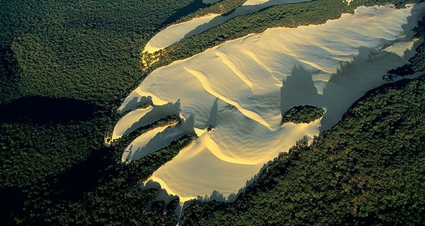 Fraser Island Dune-Surreal Places on Earth