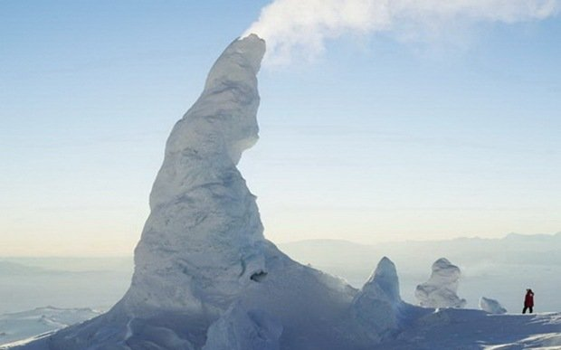 Ice Towers-Surreal Places on Earth