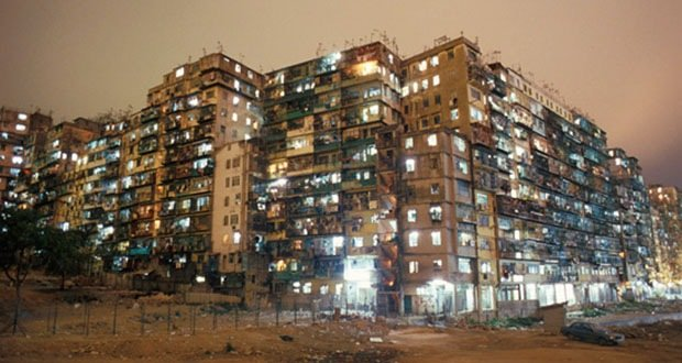 Kowloon Walled City-Most Densely Populated Places on Earth