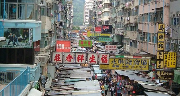 Mong Kok, Kowloon peninsula, Hong Kong-Most Densely Populated Places on Earth