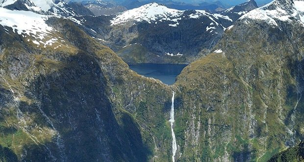 Sutherland Falls-Surreal Places on Earth