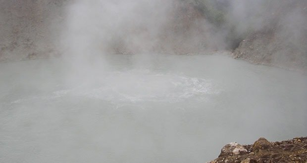 The Boiling Lake-Scariest Places on Earth