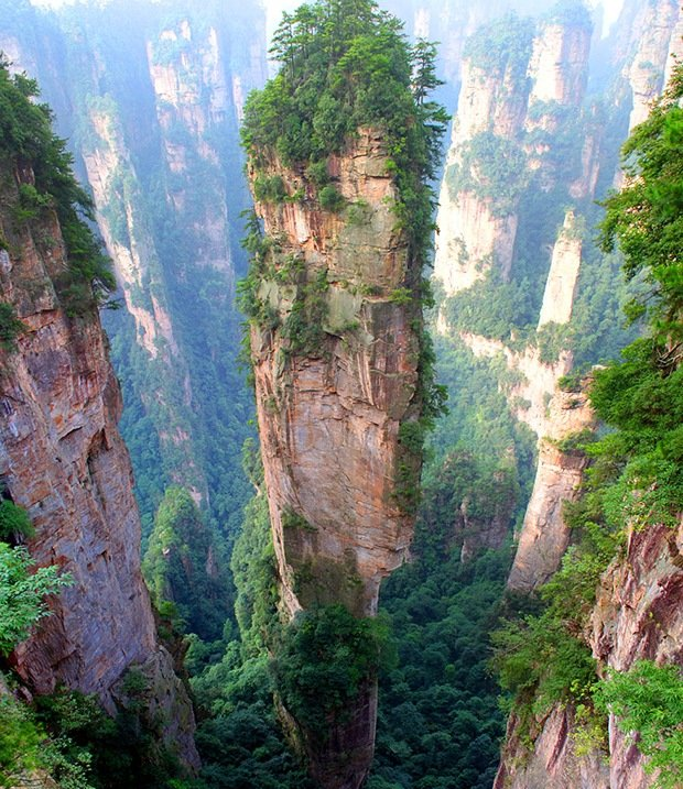 Tianzi Mountains-Surreal Places on Earth