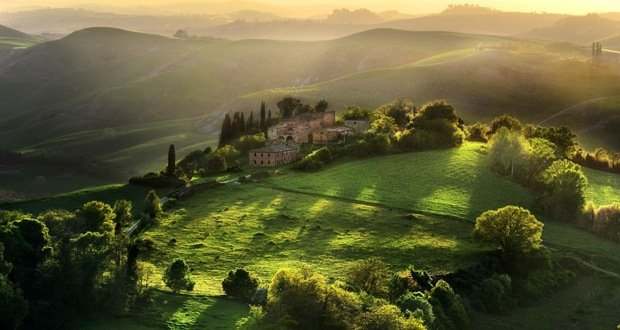 Tuscany-Surreal Places on Earth
