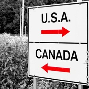 US-Canada border-Fascinating Facts About Canada