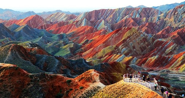 Zhangye Danxia Geological Park-Surreal Places on Earth