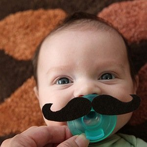 babymustache-Interesting Facts About Babies